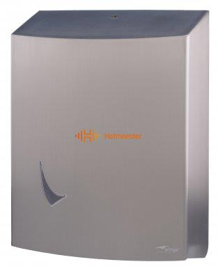 WINGS RVS HANDDOEKDISPENSER ANTI FINGERPRINT (H403xB300xD139mm)