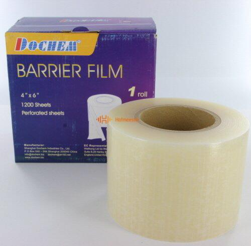 FHS BARRIER FILM TRANSPARANT (1200/10x15cm)