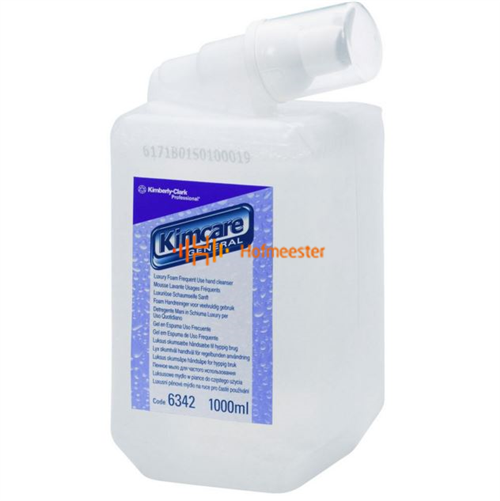 KIMBERLY CLARK LUXE FOAM HANDREINIGER REFILL (1ltr) TBV AQUARIUS DISPENER NR.6342