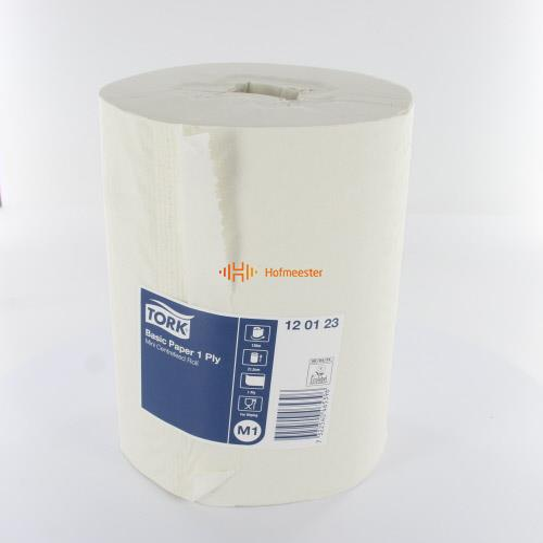TORK UNIVERSAL WIPER 310 MINI CENTERFEED ROLL 1-LAAGS 21,5cm NR.120123 (11x120m)