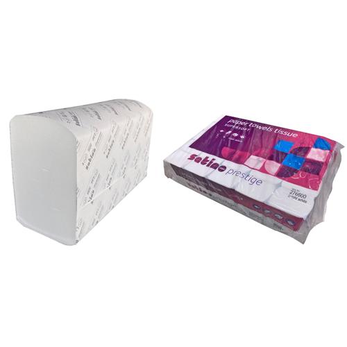 FHS HANDDOEKJES PREMIUM INTERGEVOUWEN X-ZACHT XPRESS 2-LAAGS 32x20,6cm (25x120st)