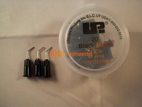 ULTRADENT BLACK MICRO TIPS 22GA NR.UP-194 (20st)