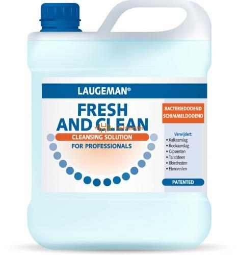LAUGEMAN PRODENTURE CLEANSING SOLUTION (2,5ltr) v/h Fresh and Clean