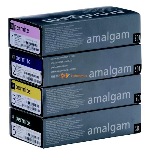SDI PERMITE AMALGAAM CAPSULES 1-SPILL REGULAR-SET (50st)