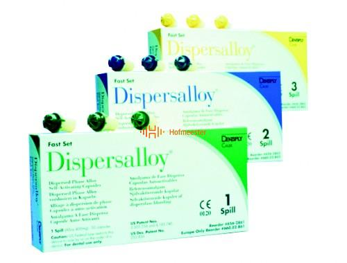 DETREY DISPERSALLOY 1-SPILL FAST SET SELF-ACTIVATING CAPSULES (50st)