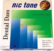 MDC DENTAL NIC TONE COFFERDAM VELLEN HEAVY GROEN LATEX 152x152mm (36st)