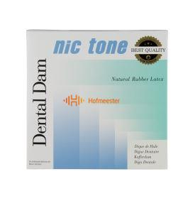 MDC DENTAL NIC TONE COFFERDAM VELLEN MEDIUM GROEN LATEX 152x152mm (36st)