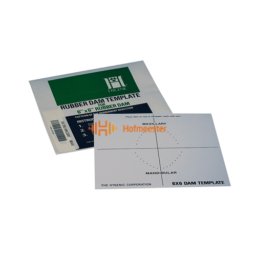 HYGENIC COFFERDAM TEMPLATE (15cm)