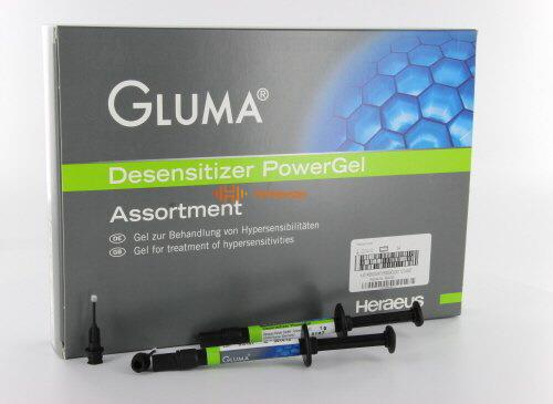 KULZER GLUMA DESENSITIZER POWERGEL SYRINGE KIT (4x1gr)