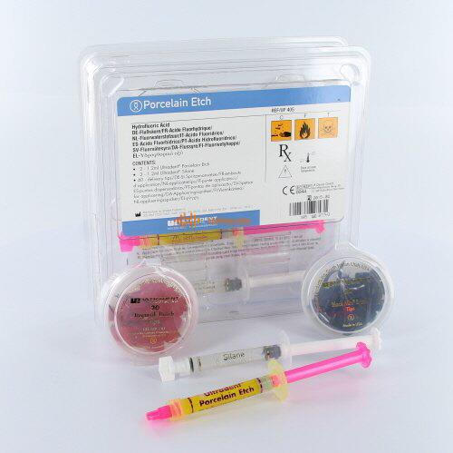 ULTRADENT PORSELEIN ETCH KIT NR.UP-405 (2x1,2ml/tips).
