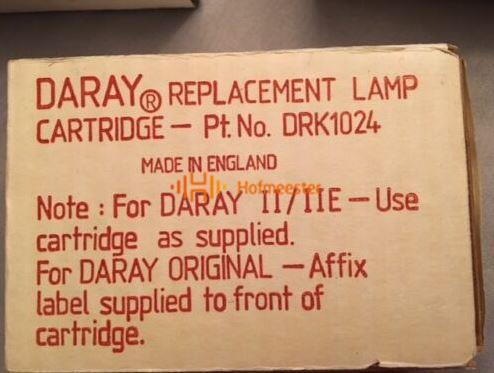 DARAY RESERVE LAMP 12V/55W CARTRIDGE NR. DRK1024