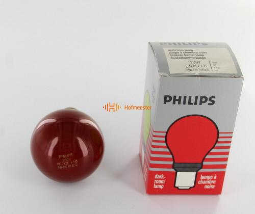 PHILIPS DOKA LAMP ROOD 712