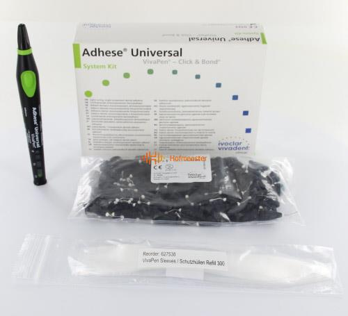 VIVADENT ADHESE UNIVERSAL VIVAPEN SYSTEM KIT (2ml/100 brushes/20 sleeves)