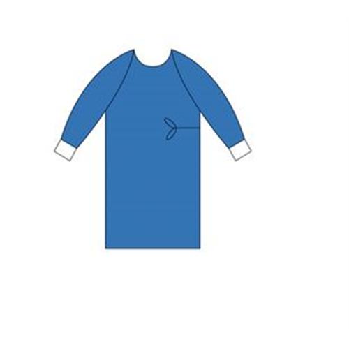MEDICOCARE OPERATIE MANTEL MET MANCHET KLEUR GROEN STERIEL NR. 80141 (36st)