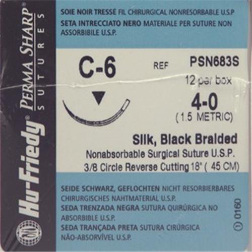 HU-FRIEDY HECHTZIJDE 4-0 PSN683S MET NAALD C6 45cm (12st)