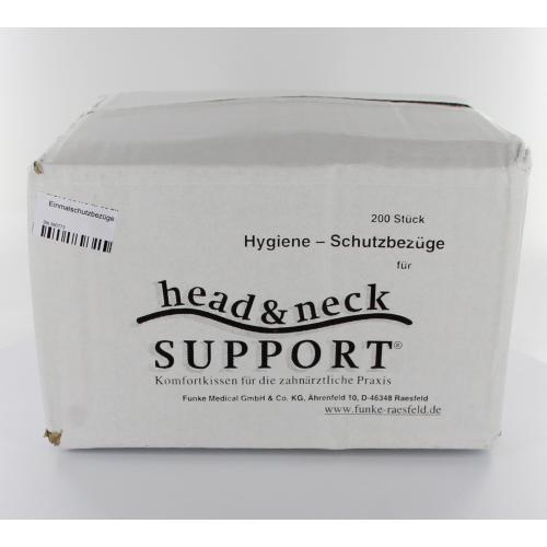 HEAD & NECK SUPPORT KUSSENHOEZEN KLEUR WIT (200st)