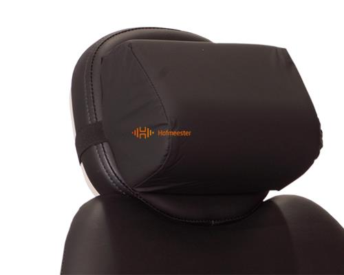 CRESCENT MEMORY HEADREST ZWART