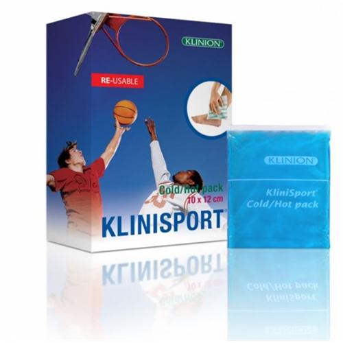 KLINION KOUDE/WARME COMPRESS HERBRUIKBAAR 10x12cm (24st)