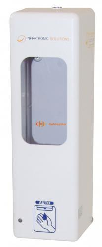INFRATRONIC SOLUTIONS HYGIENE DISPENSER WIT IT1000AW EURO (ALLEEN AAN DE MUUR!)