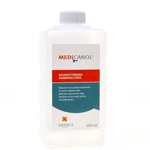 MEDICA MEDICANOL DESINFECTERENDE HANDENALCOHOL (500ml)
