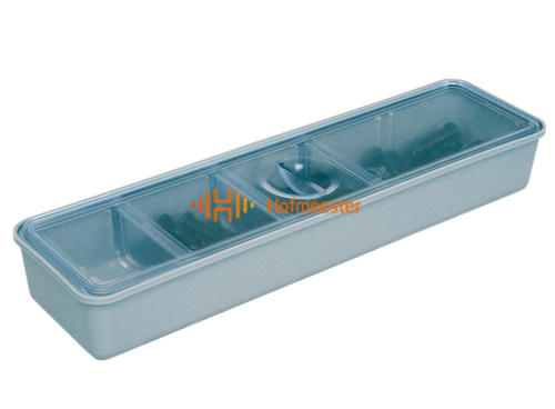 ZIRC TUB CUP WITH COVER LONG (21,3x5,7x2,9cm)
