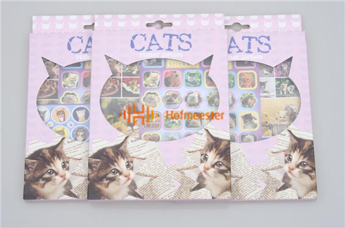 BEST PRESENT STICKERBOX KATTEN (5st)