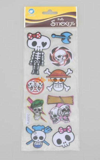 BEST PRESENT STICKERS STOERE PIRATEN (10st)