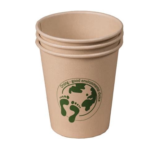 ORSING BIO CUP BAMBOO DRINKBEKER 210ml BC1000 (1000st)