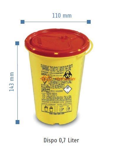 VE-SYSTEMS NAALDENCONTAINER DISPO (0,7ltr)