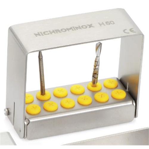 NICHROMINOX BORENSTANDAARD PLUG'IN RVS GEEL 5cm HOOG 12st 206010-5