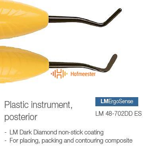 LM COMPOSIET ERGOSENSE PLASTIC INSTRUMENT POSTERIOR GEEL NR.48/702DD ES
