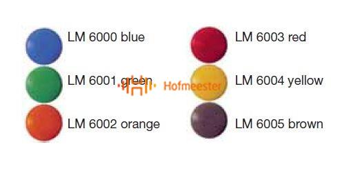 LM CODE BUTTONS ROOD (20st)