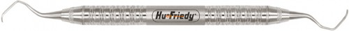 HU-FRIEDY CURETTE 17/18 GRACEY RIGID HANDLE 6 SATIN STEEL NR.SG17/18R6