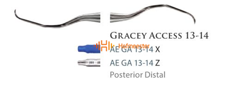 AMERICAN EAGLE GRACEY CURETTE 13/14 ACCESS ZWARTE HANDLE NR.GA13/14X