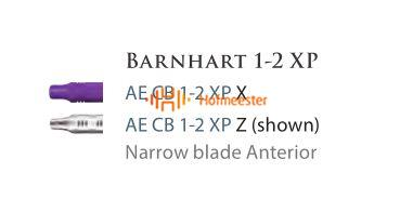 AMERICAN EAGLE BARNHART CURETTE XP 1/2 PAARSE HANDLE NR.CB1/2XPX