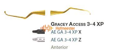 AMERICAN EAGLE GRACEY CURETTE XP 3/4 +3 ACCESS NR.GA3/4XPX