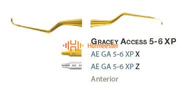 AMERICAN EAGLE GRACEY CURETTE XP 5/6 +3 ACCESS NR.GA5/6XPX
