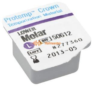 3M ESPE PROTEMP CROWN REFILL MOLAR LOWER LARGE (5st)