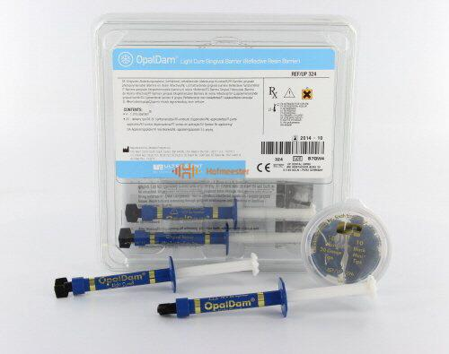 ULTRADENT OPAL-DAM RESIN BARRIER KIT (4x1,2ml/tips)