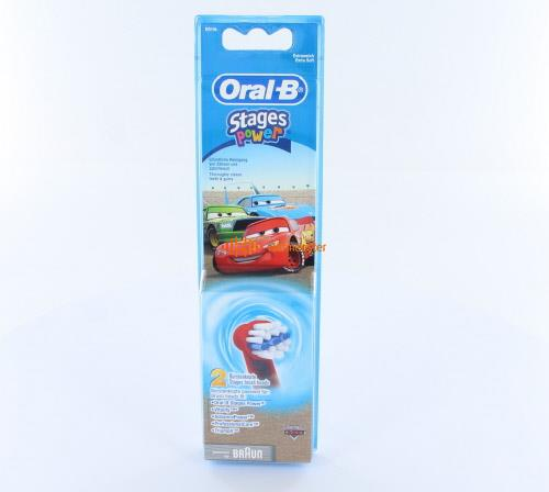 ORAL-B OPZETBORSTELS FOR KIDS CARS EB10K (2st)
