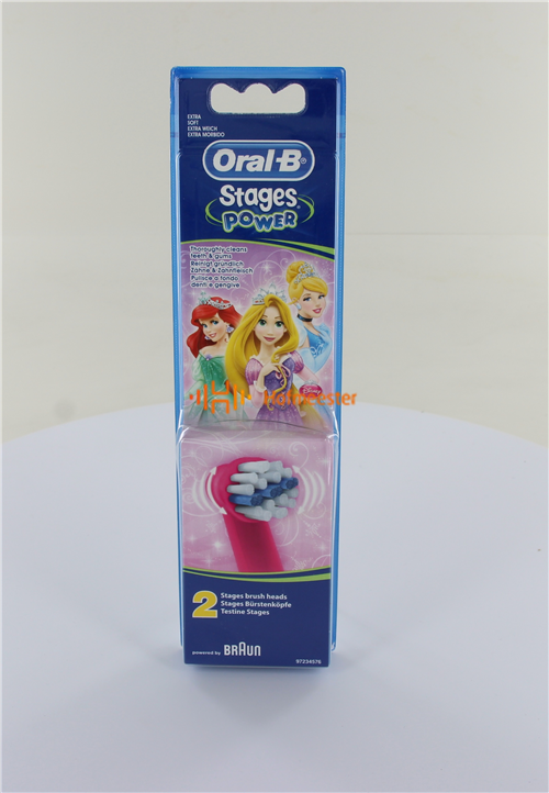 ORAL-B OPZETBORSTELS FOR KIDS PRINCESS EB10K (2st)