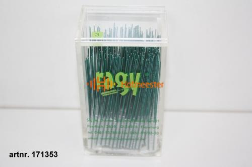 RAGY INTERDENTAALBORSTELS X-SMALL 3mm GROEN (250st)