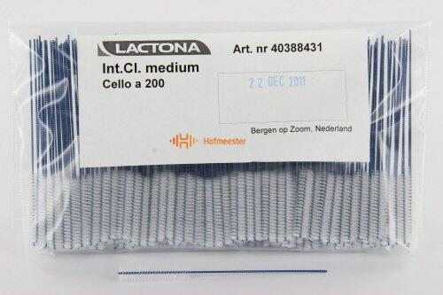 LACTONA INTERDENTAL CLEANERS MEDIUM 5mm BLAUW GRIPZAK (200st)