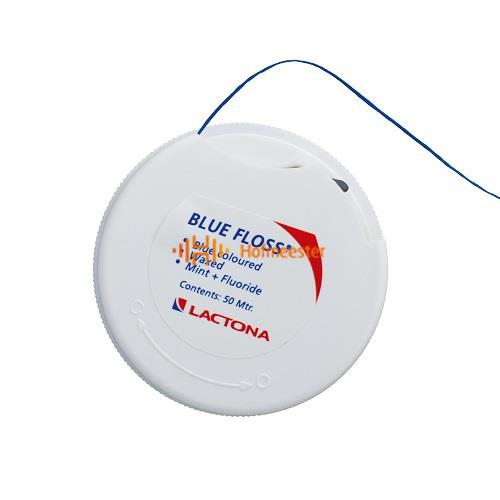 LACTONA BLUE FLOSS WAXED (12x50mtr)