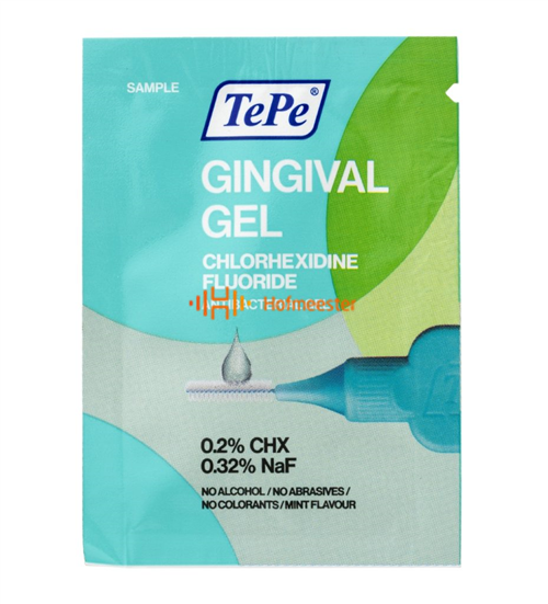 TEPE GINGIVAL GEL MET FLUORIDE & CHX (150st samples)