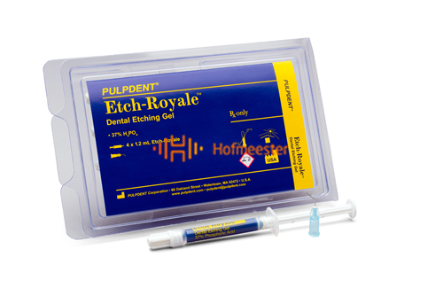 PULPDENT ETCH-ROYALE ETSGEL IN SPUITJES (4x1,2ml/tips)