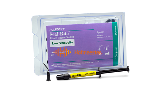 PULPDENT SEAL-RITE PIT & FISSURE SEALANT OFF-WHITE (4x1,2ml/tips)