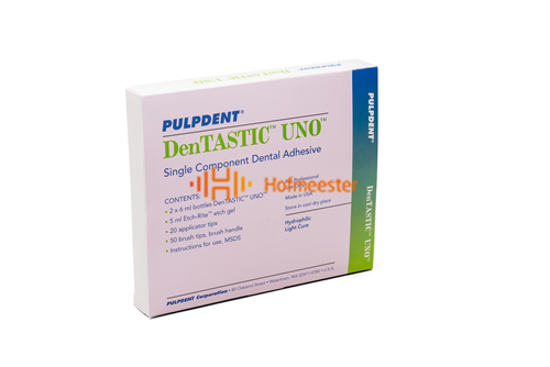 PULPDENT DENTASTIC UNO ADHESIEF KIT (2x6ml/5ml ETS/accessoires)