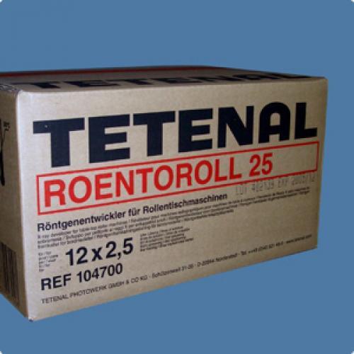 TETENAL ROENTOROLL ONTWIKKELAAR-25 PART 1+2 (12st)