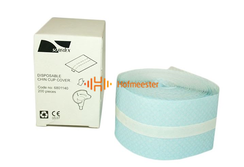 SOREDEX DISPOSABLE CHIN CUP COVERS UNIVERSEEL ROL (200st)